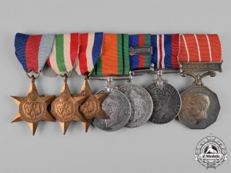 Canada, Dominion. A Canadian Forces Decoration Medal Group, to Major C.W. Bunting