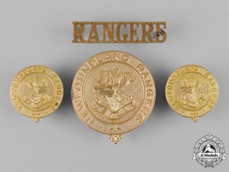 Canada. A Newfoundland Ranger Force Insignia Set