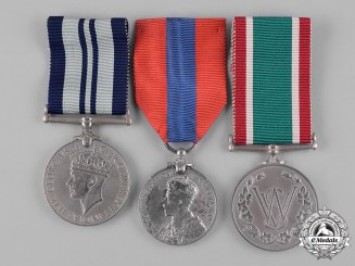 United Kingdom. A Lot of Three Medals