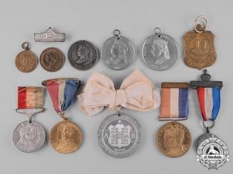 United Kingdom. A Lot of Eleven Royal Coronation & Commemorative Medals