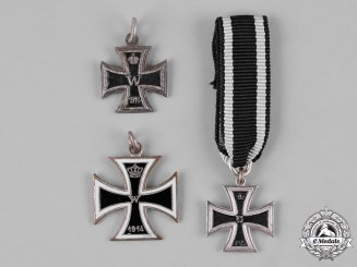 Germany, Imperial. A Group of 1914 Iron Cross Miniatures