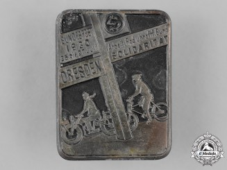 Germany, Weimar. A 1930 Workers Cycle and Motorist Union Solidarity Badge