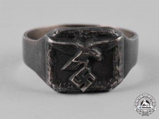Germany, Luftwaffe. A Silver Ring