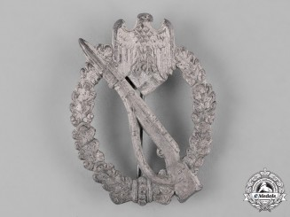 Germany, Wehrmacht. A Silver Grade Infantry Assault Badge, by Gebrüder Wegerhoff