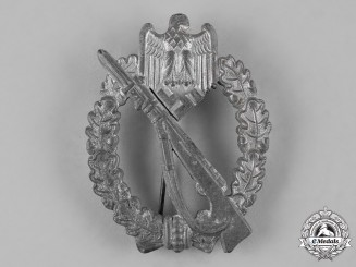 Germany, Wehrmacht. A Silver Grade Infantry Assault Badge, by Richard Simm & Söhne