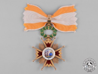 Spain, Kingdom. An Order of Isabella the Catholic in Gold, Commander, c.1900