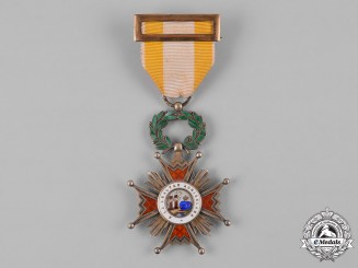 Spain, Franco Period. An Order of Isabella the Catholic, by Medina, I Class Knight, c.1950