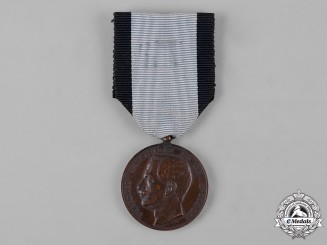 Italy, Kingdom. A Medal for Public Welfare, III Class Bronze Grade