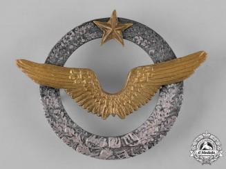 France, III Republic. An Army of the Air Aircraft Pilot Qualification Badge, c.1940