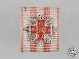 Croatia, Republic. A Order of Merit for Christians Ribbon Bar
