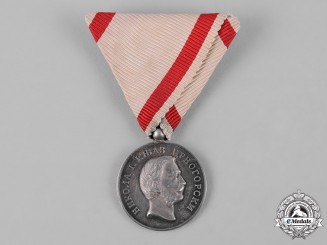 Montenegro, Kingdom. A Medal for Zeal, II Class, Silver Grade, c. 1915