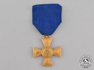 Prussia, Kingdom. A 25-Year Long Service Cross