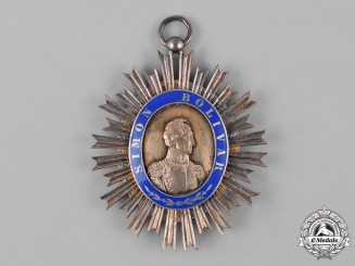 Venezuela, Republic. An Order of the Liberator, II Class Grand Officer Badge