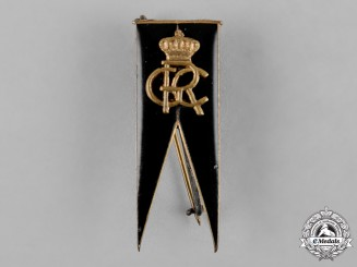Romania, Kingdom. An Officer's Regimental Badge