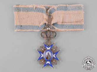 Serbia, Kingdom. An Order of St. Sava, III Class Commander, c.1918