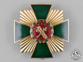 Spain, Kingdom. An Order of Merit of the Civil Guard, Grand Cross of Merit with Red Distinction