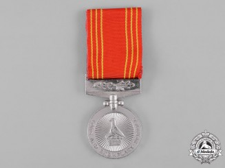 Zimbabwe, Republic. An Army Long & Exemplary Service Medal for Fifteen Years' Service, to Private J. Gwenyambira