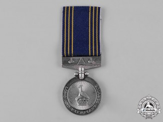 Zimbabwe, Republic. A Police Long & Exemplary Service Medal for Fifteen Years' Service, to Constable K.M. Matulela