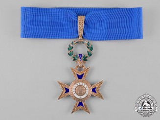 Portugal, Republic. An Order of Merit, III Class Commander, c.1945