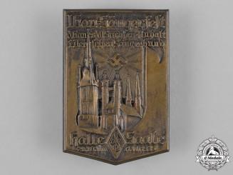 Germany, DSB. A 1935 German Singing Association Saxony-Anhalt Event Badge