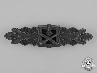 Germany, Wehrmacht. A Close Combat Clasp in Bronze by Josef Feix & Söhne