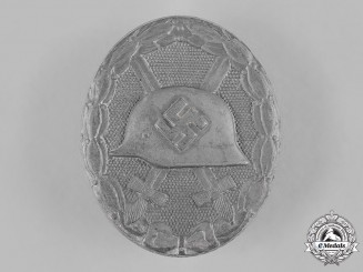 Germany, Wehrmacht. A Wound Badge, Silver Grade, by Carl Wild