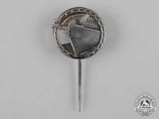 Germany, Kriegsmarine. A Blockade Runner Badge Stick Pin