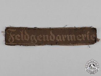 Germany, Ordnungspolizei. A Feldgendarmerie (Military Police) Cufftitle