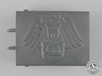 Germany, Weimar. A Stahlhelm Belt Buckle