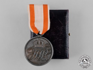 Prussia, Kingdom. A General Honour Medal, II Class, with Case
