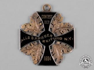 Germany, Imperial. A German-American Commemorative Cross, c.1894