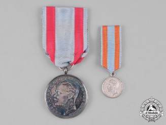 Hesse-Darmstadt, Grand Duchy. A General Honour Decoration, Silver Medal for Bravery, c.1917