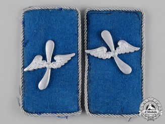 Germany, DLV. A Set of German Air Sports Association (DLV) Officer's Collar Tabs
