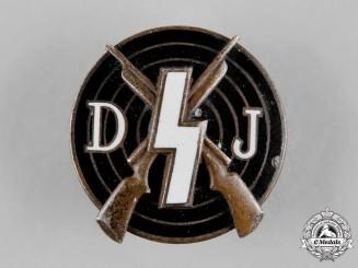 Germany, DJ. A Deutsches Jungvolk (DJ) Shooting Award by Fritz Kohm