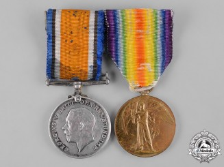 United Kingdom, South Africa. A First War Pair, to Private R.P. Wheeler, 8th South African Horse
