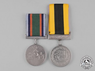 Pakistan, Republic. Two Medals