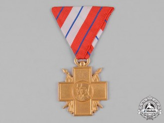 Yugoslavia, Kingdom. An Invalids of War Commemorative Cross, Gold Grade for Officers
