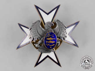 Estonia, Republic. A Kaitseliit Defence Force Badge by Roman Tavast of Tallinn