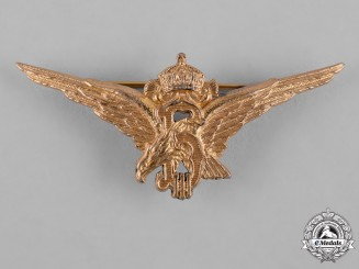 Bulgaria, Kingdom. A Pilot's Badge, c.1935