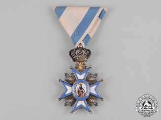 Serbia, Kingdom. An Order of St. Sava, V Class Knight, by G.A. Scheid, c.1918