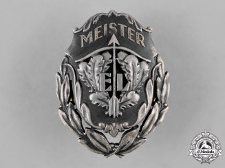 Estonia, Republic. A Sharpshooters Union Marksmanship Badge, Master Class, by Roman Tavast of Tallinn