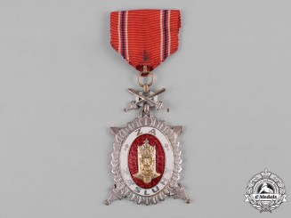 Czechoslovakia, Republic. An Order of Charles IV, II Class Decoration, c.1950