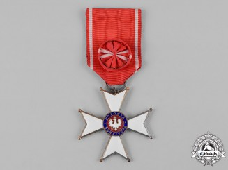 Poland, Republic. An Order of Polonia Restituta, IV Class Officer, c.1920