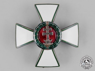 Hungary, Kingdom. An Order of Merit, III Class Officer's Badge, c.1940