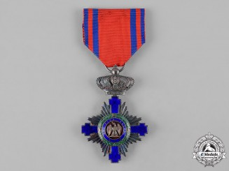 Romania, Kingdom. An Order of the Star, V Class Knight, Civil Division, c.1920