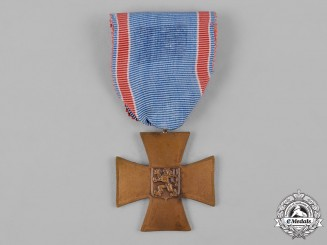 Czechoslovakia, Republic. A Cross of Czech Volunteers 1918-1919