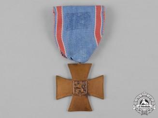 Czechoslovakia, Republic. A Cross of Czech Volunteers 1918-1919