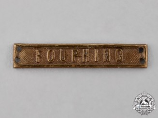 Germany, Imperial. A Fouphing Campaign Clasp for a China Medal