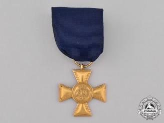 Prussia, Kingdom. A 25-Year Long Service Cross, c.1865