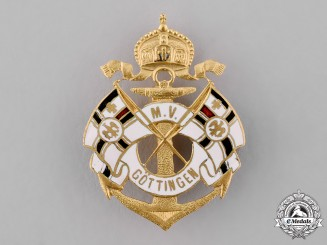 Germany, Imperial. An M.V. Göttingen Badge by Otto Tribian